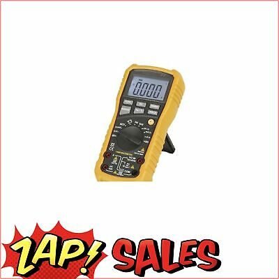 Digital Multimeter Data Hold Backlit Display True Rms Auto Off Frequency Measure