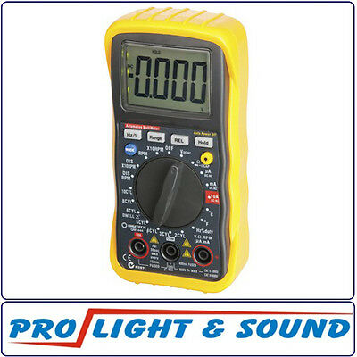 Digital Multimeter Automotive Inductive Pickup For RPM, Temp, Frequency Measure