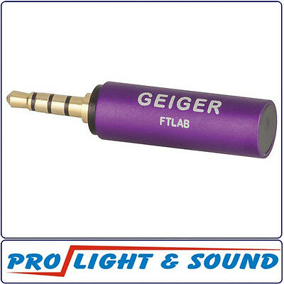 FTLAB Smartphone Plug In Sensor Geiger For Radiation Including App