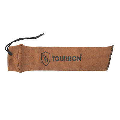 Tourbon Gun Sleeve Sock Silicone Sack Pistol Bag Handgun Reel Carry Hunting Case