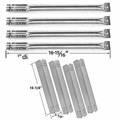 Kitchen Aid 720-0733A,Stainless Heat Plate & Steel Burner,Grill Replacement Kit
