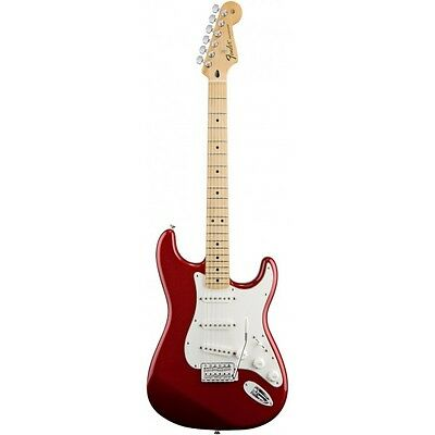 Guitarra electrica FENDER Standard Stratocaster Candy Apple Red MN Strato