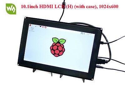 10.1'' HDMI 1024×600 Capacitive Touch LCD Screen for all Raspberry Pis &BB Black