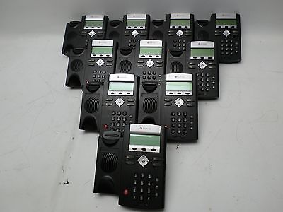 LOT of 10 POLYCOM SoundPoint IP330 Phones Bases ONLY