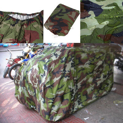 Waterproof Quad Bike ATV UTV Cover Protector Universal for Yamaha Honda M Camo