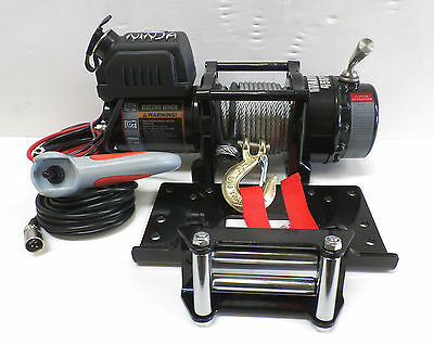 4500lb WARRIOR NINJA 12v Winch for ATV, Trailer etc