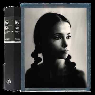 Impossible Project 8x10 Black and White Instant Sheet Film