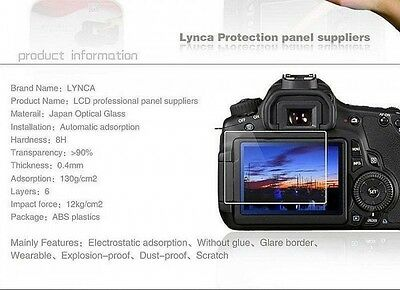 LYNCA Glass Camera Screen Protector Film for CANON 100D EOS M3 UK Seller