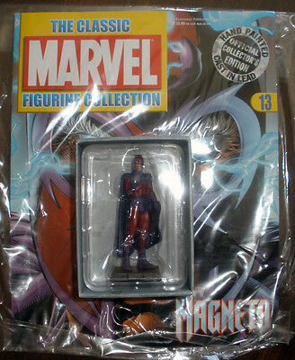 Figura Marvel Figurine Collection Magneto Rare Early Pilot Issue 13 Not 5