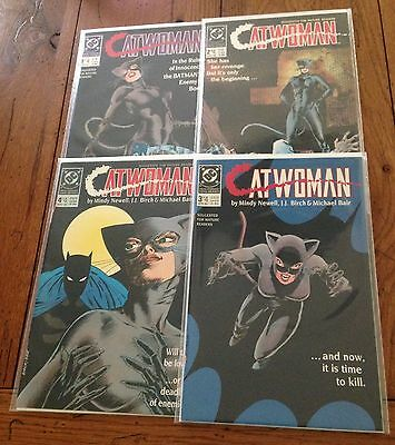 Dc Comics Catwoman Metamorphosis #1-4 Complete Mini Series Set