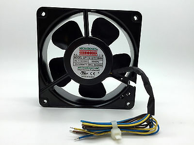 Mechatronics UF12A12/23-BWH 120 x 38mm High Speed Cooling Fan - Dual Voltage