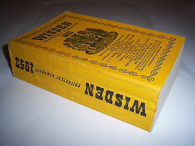 Wisden Cricketers' Almanack 1953 - Linen Cloth Softback - Cricket Annual / Book