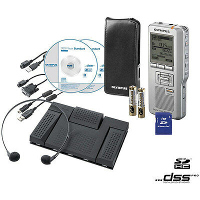 Olympus Ds-2500 & As-2400 Office Starter Kit...bundle Price Special Offer
