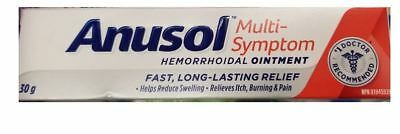 Anusol Hermorrhoidal Pain Relief Ointment Zinc Sulfate Monohydrate 30g