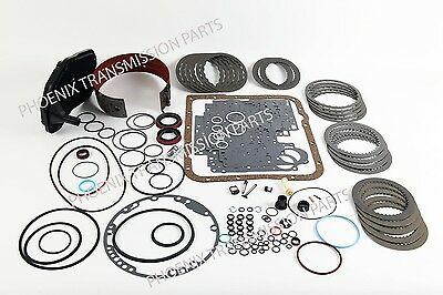 4L60E 4L65E Transmission Rebuild Kit 2004-2011 Alto Frictions Deep Filter Band