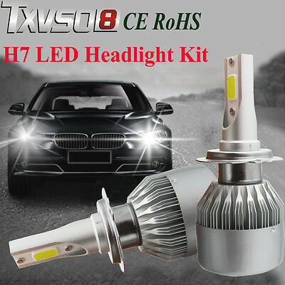 110W H7 CREE LED Ampoule Phare Light Headlight Kit 6000K Voiture Feux Car Lampes