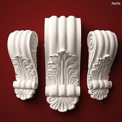 (636) STL Model Corbel for CNC Router 3D Printer  Artcam Aspire Cut3d