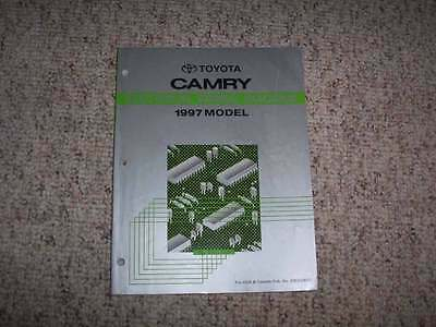 toyota camry hybrid vehicle oem electrical wiring diagram 1997 toyota camry electrical wiring diagram manual ce le xle 2 2l 3 0l 4cyl v6