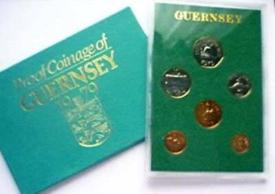 1979 Guernsey / United Kingdom - Official Proof Set (6) - Royal Mint - Rare!
