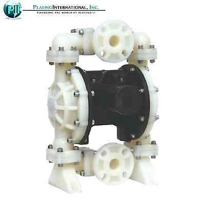 "Industrial Chemical Resistant 1"" Inch Air Diaphragm Pump"