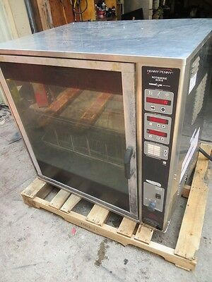 Henny Penny SCR-8 Chicken Rotisserie Oven Electric 208 3ph Commercial Restaurant