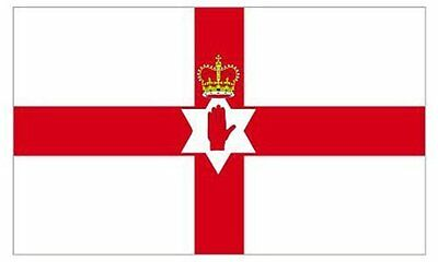 Northern Ireland Red Hand of Ulster Flag 5x3