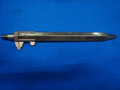 Old Vintage Germany Make Ball Pen with Vernier Caliper Actual Fig's from Germany
