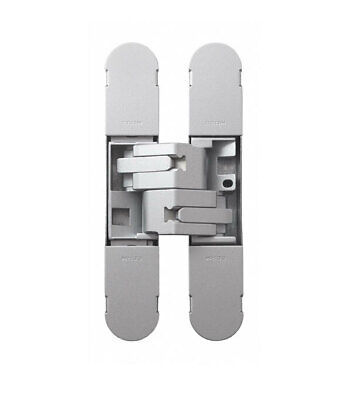 Bellevue Ceam Door Hinge BAC1130SI 3D Invisible Concealed 60kg Silver