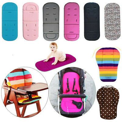 Washable Baby Kids Stroller Pram Pushchair Car Seat Liner Pad Mat Soft Cushion