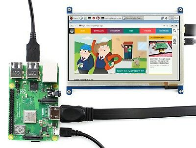RPI 7inch HDMI LCD (B) 800×480 Capacitive Touch Screen Supports Windows 10/8.1/8