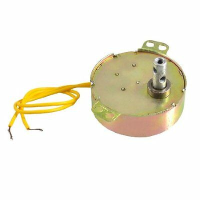 FP Yellow Wired AC 220V 50/60Hz 3 Watt 5RPM Synchronous Motor