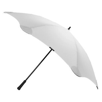NEW Blunt tough polyester flip-proof aerodynamic grey umbrella