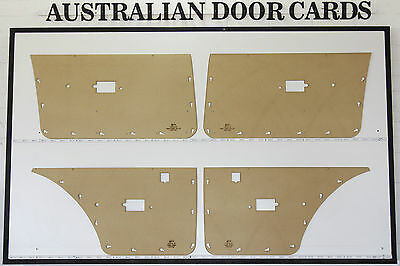 Ford Falcon XE XD. Door Cards. Blank Trim Panels. Sedan, Wagon. Masonite