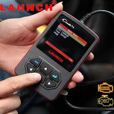 LAUNCH CReader V+ OBDII OBD2 EOBD Auto Engine Fault Code Reader Diagnostic Tool