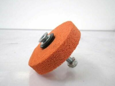 5111461 Flexlink Labeller Parts Label Sponge Wheel Orange Foam Roller (New)