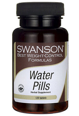 WATER PILLS  WEIGHT CONTROL WATER RETENTION 120 Tablets SWANSON