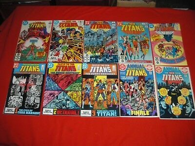 Tales Of Teen Titans 44 42 43 Annual 3 Teen Titans 9 10 26 30 34 Annual 2 Judas
