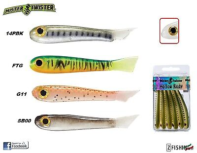 ESCA SILICONICA MISTER TWISTER MISTER MINO 5cm spinning lure bass luccio bait