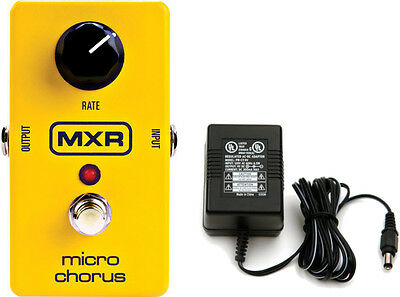 MXR by Dunlop M148 Micro Chorus Guitar Effects Pedal  with Power Supply!