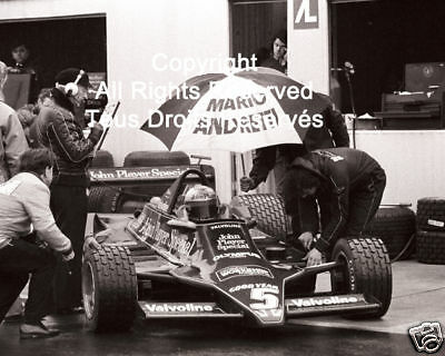 Lotus Mario Andretti F1 Formula One 1978 Photo #21