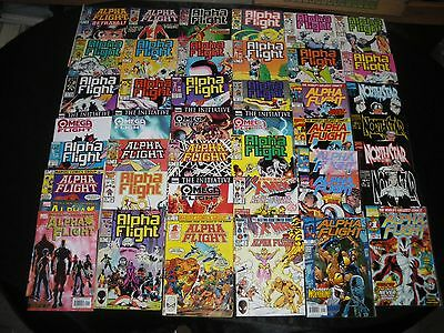 Alpha Flight 1 - 4 33 - 42 44 - 48 50 51 Northstar 1 - 4 Omega 1 - 5 X-Men 1 2