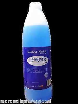 Remover Da Un Litro Per Smalto Semipermanente Soak Off Gel Uv No Fresa Nail Art