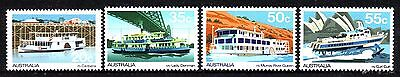 Australia Sc 696-99 Passenger Ferries 1979 VF MNH Set