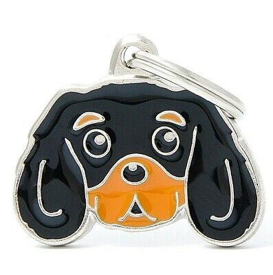 Cavalier King Charles Spaniel Dog ID Tag - Engraved FREE- Personalised - Charm