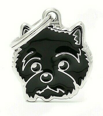 Cairn Terrier Dog ID Tag (55) - Engraved FREE - Personalised - Charm