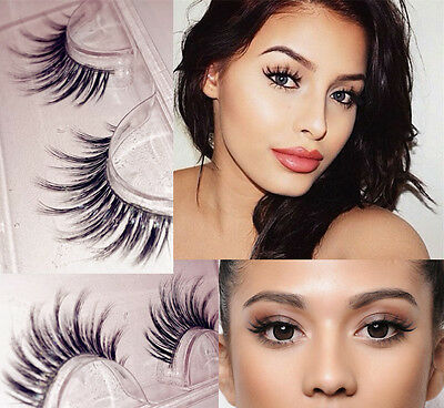 100% 3D Mink False Lashes Flutter Party Lilly Hand SALE MF Christmas Gift New UK