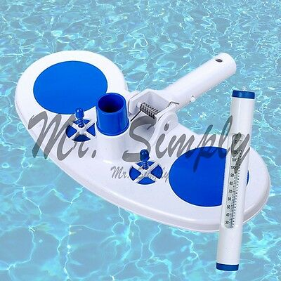 Vacuum Head With Air Relief Valves Spring On Handle Pool Ne White Thermometer