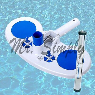 Vacuum Head With Air Relief Valves Spring On Handle Pool Ne Brass Thermometer