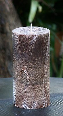 MASSIVE CHOCOLATE MUD CAKE 400hr 1.7kg Triple Scented PILLAR CANDLE Spa Scent
