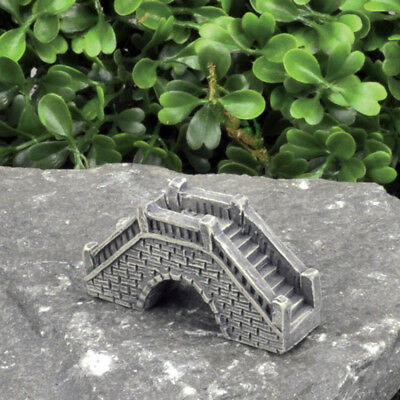 Miniature Dollhouse FAIRY GARDEN - Micro Mini Stone Bridge - Accessories